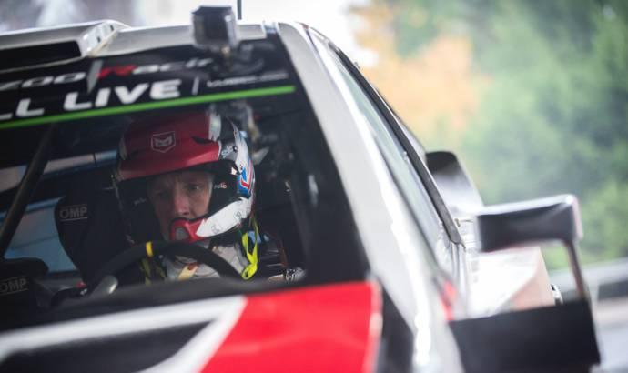 Kris Meeke returs to WRC with Toyota