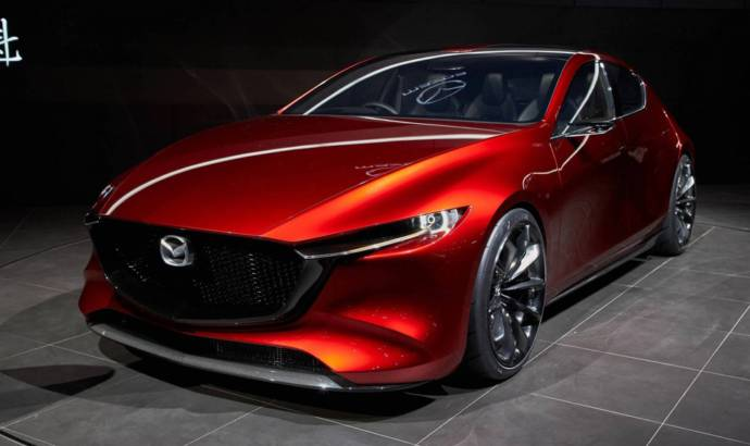 Mazda teases something special. It could be the new Mazda3 hatchback