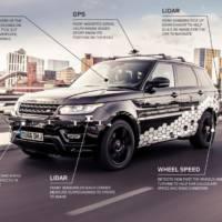 Range Rover Sport completes autonomous test