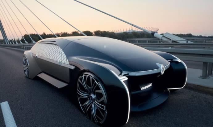 Renault EZ-Ultimo concept unveiled in Paris