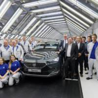 Seat Tarraco enters production in Wolfsburg