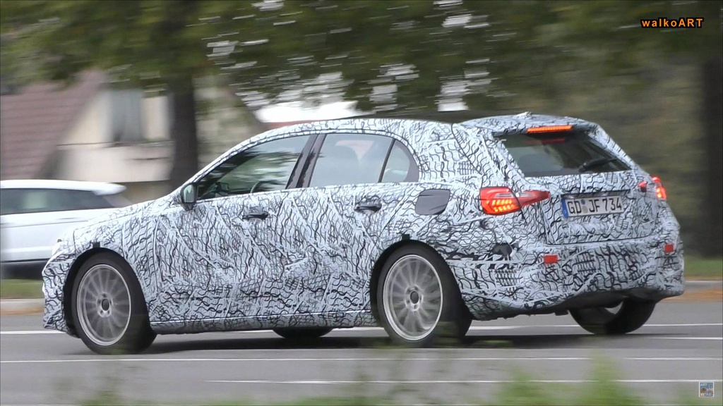 Silent Mercedes-Benz A-Class spied - it could be the next EQA hatchback