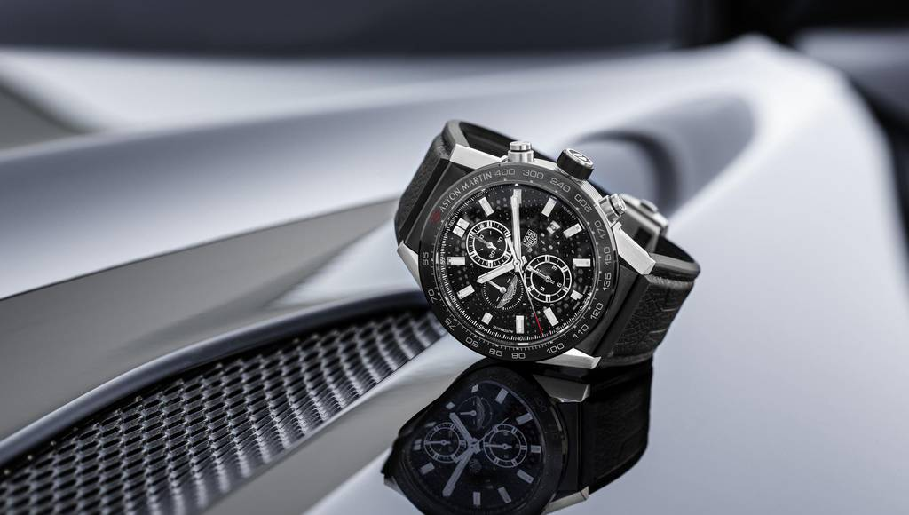 TAG Heuer Carrera Calibre Heuer 01 created for Aston Martin