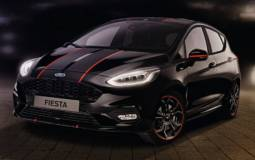 These are the new Fiestas Red and Black Editions