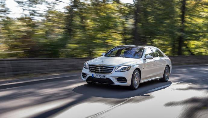 This is the all-new Mercedes-Benz S 560 e plug-in hybrid