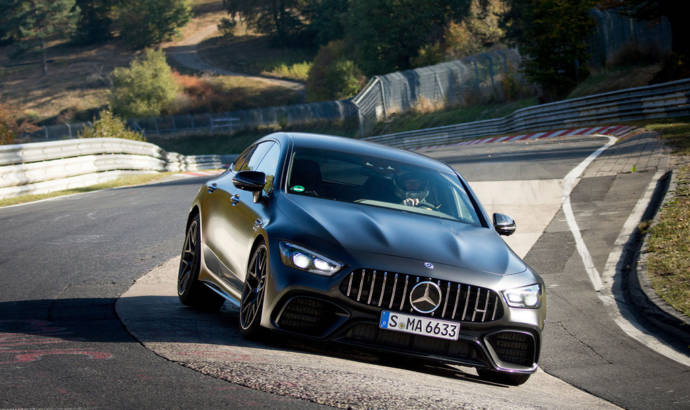 Video - Mercedes-AMG GT 63 S 4Matic+ is the fastest series production four-seater on the Nurburgring