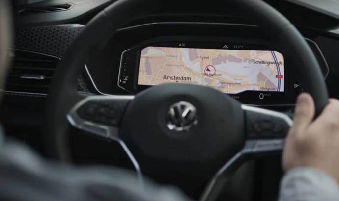 Volkswagen T-Cross - first video with the interior