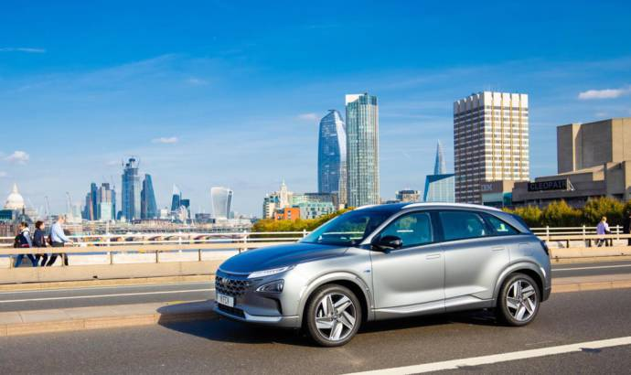 Hyundai Nexo becomes first fuel-cell car with five-star rating in EuroNCAP