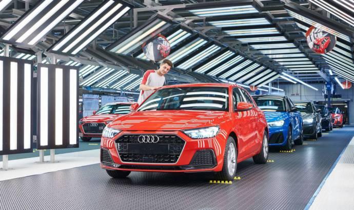 Seat kicks off production of the brand new Audi A1 portback