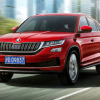 This is the new Skoda Kodiaq GT - only for China