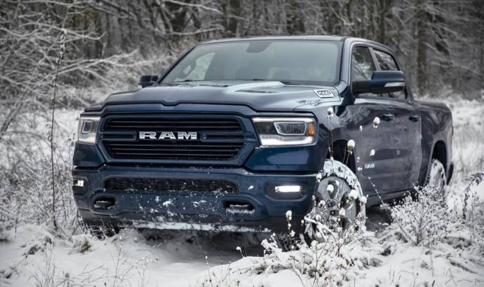 2019 Ram 1500 North Edition is ready for winter