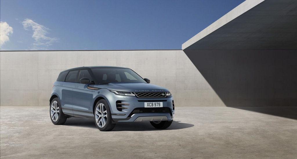 2019 Range Rover Evoque unveiled in London