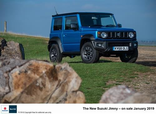 2019 Suzuki Jimny priced in UK
