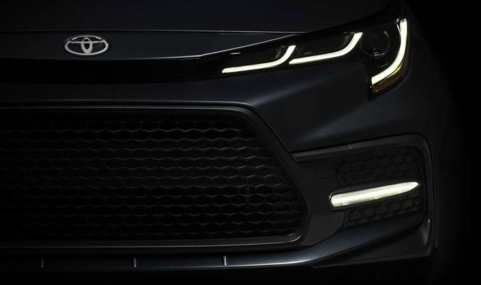2019 Toyota Corolla Sedan - new teaser picture