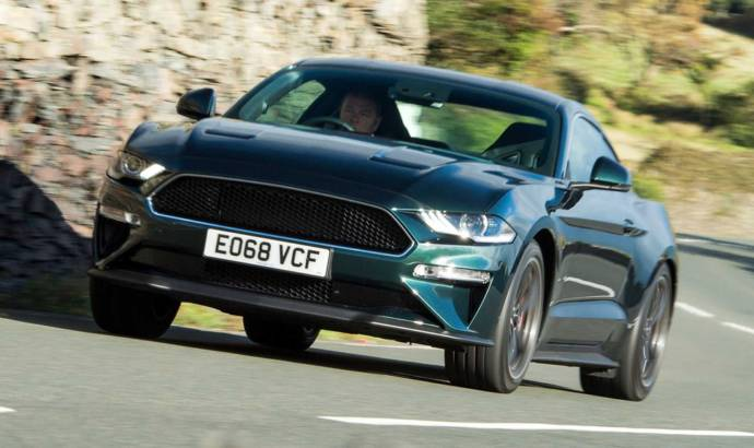 Ford Mustang Bullitt has arrive on the Isle of Man