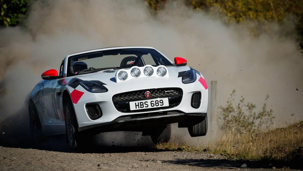 Jaguar F-Type rally cars celebrate 70 years of sport heritage