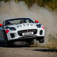 Jaguar F-Type rally cars celebrate 70 years of sport heritage