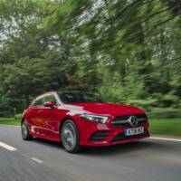 Mercedes A-Class gets two new diesel engines in the UK
