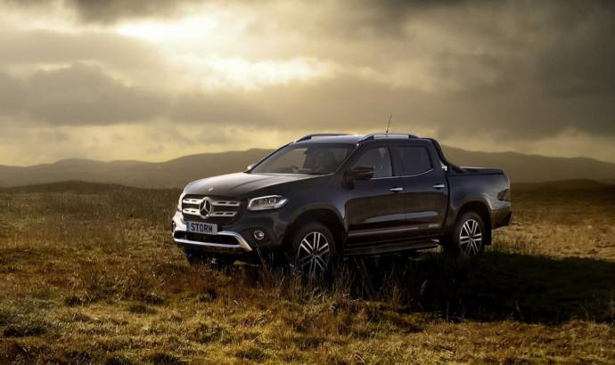Mercedes-Benz X-Class Storm Edition launched in UK