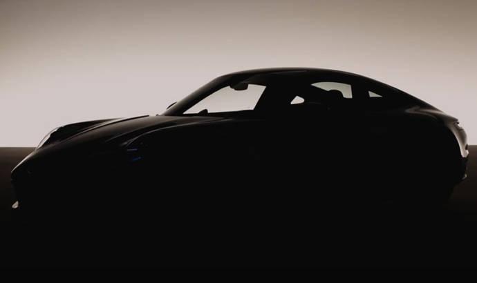 New Porsche 911 - first teaser video