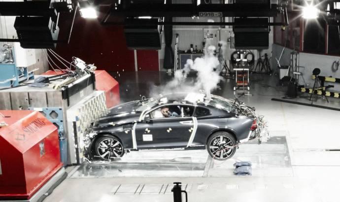 Polestar crash-tests its carbon fibre structure