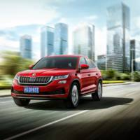 Skoda Kodiaq GT unveiled in China