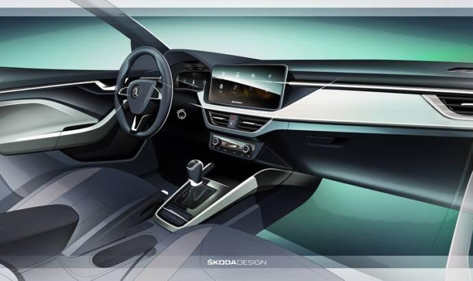 Skoda Scala interior images released
