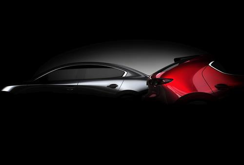 The all-new 2019 Mazda 3 will be unveiled in Los Angeles