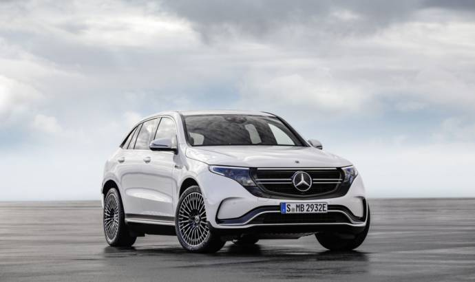 The all-new and electric Mercedes-Benz EQC to enter production in mid-2019