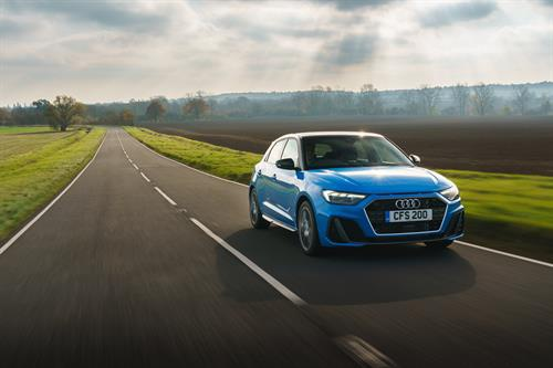 The new Audi A1 Sportback is available for sale in the UK