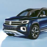 Volkswagen Tarok concept unveiled in Sao Paulo