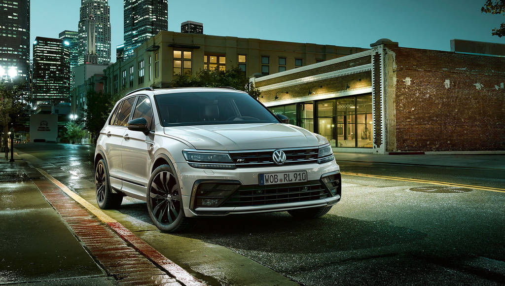 Volkswagen Tiguan received the Black Style R-Line package