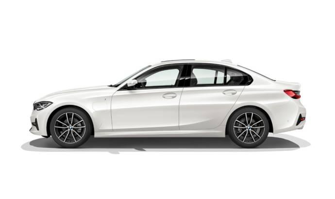 BMW 330e plug-in hybrid revealed