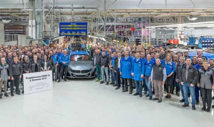 BMW Z4 enters production