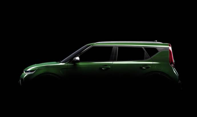 New teaser pictures with the upcoming Kia Soul. The car will be unveiled in LA