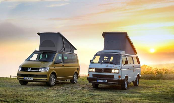 Volkswagen California celebrates 30 years since launch