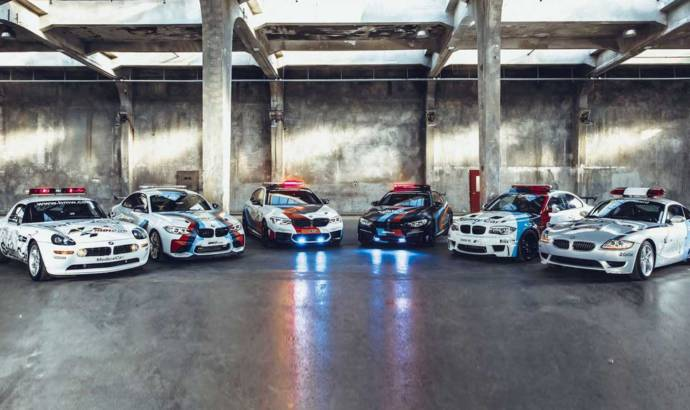 20 years of Moto GP safety cars - by BMW