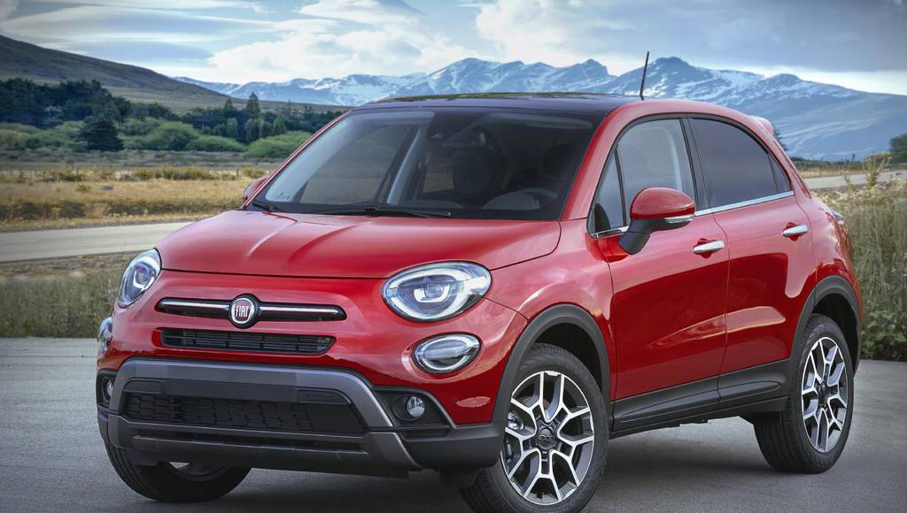 2019 Fiat 500X updates introduced in LA