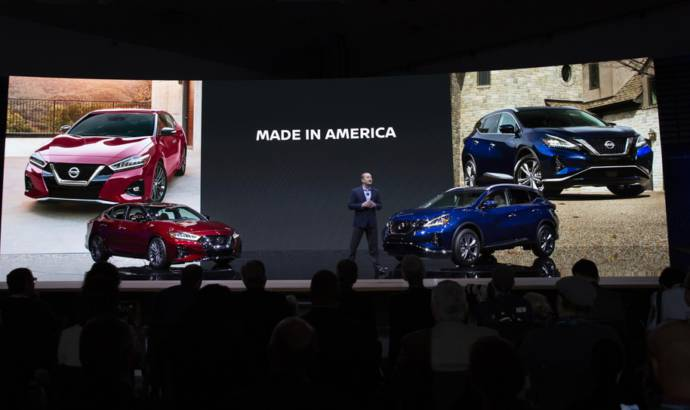2019 Nissan Maxima and 2019 Murano available in US