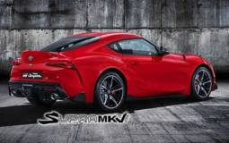 2019 Toyota Supra - leaked pictures