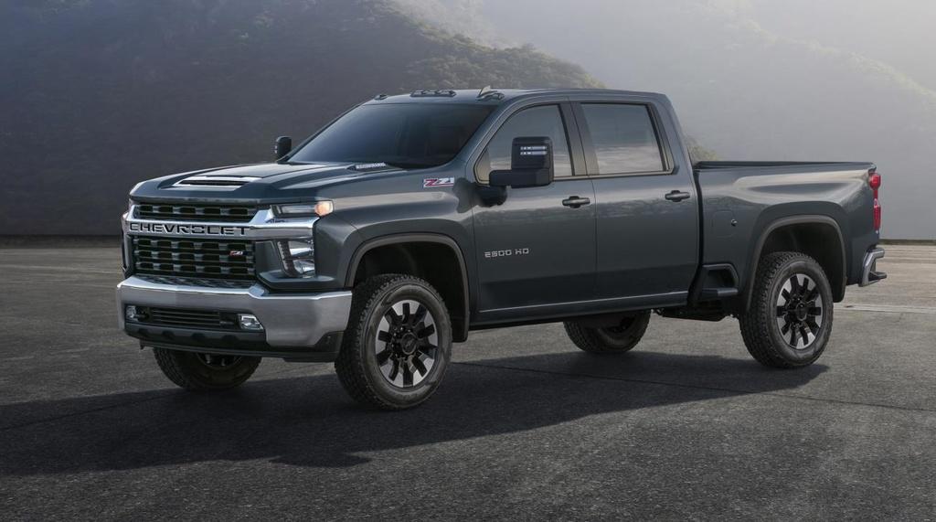 2020 Chevrolet Silverado HD previewed ahead of debut