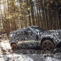 2020 Land Rover Defender - new teaser pictures