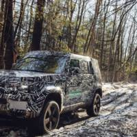 2020 Land Rover Defender - new teaser pictures