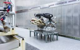 Aston Martin Valkyrie V12 engine detailed
