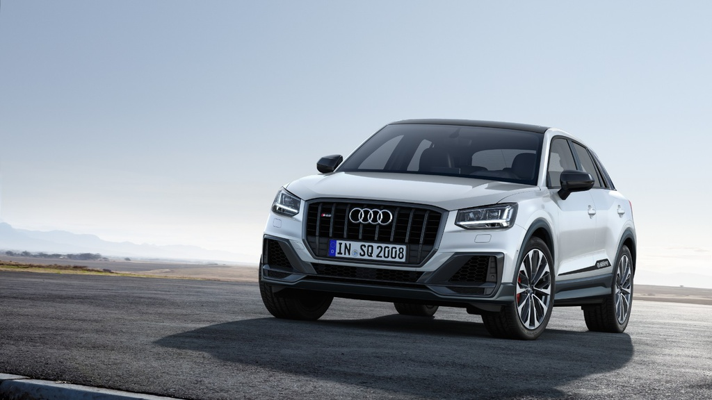 Audi SQ2 has 300 HP and can do not to 62 in 4.8 seconds