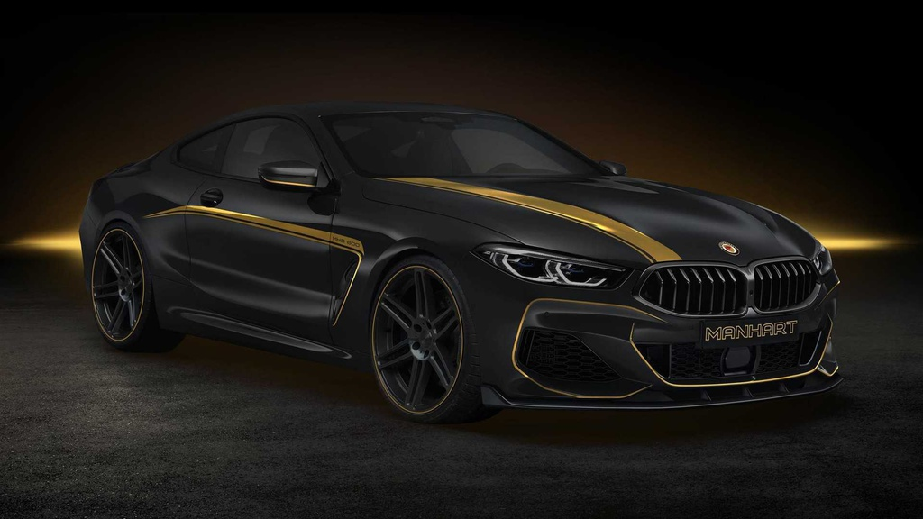 BMW 8 Series Coupe was modified by Manhart