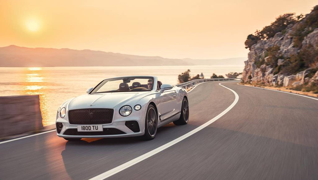 Bentley Continental GT Convertible full details and photos