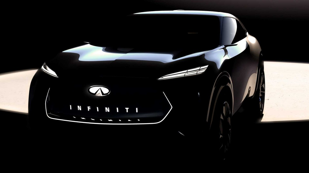 First teaser with a new crossover concept from Infiniti