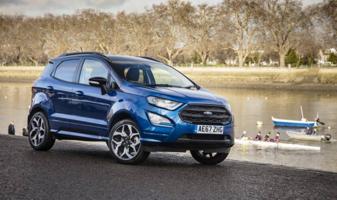 Ford Kuga, Ecosport and Edge reach record numbers in Europe