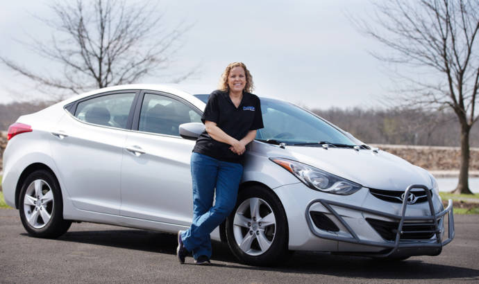 Hyundai Elantra owner reaches one million miles in just 5 years